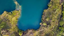 Free Aerial View Of Land And Body Of Water Royalty Free Stock Images - 130706739