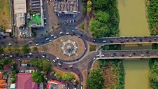 Free Aerial Photography Of Concrete Road Royalty Free Stock Photos - 130706758