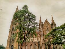 Free Cathedral, Medieval Architecture, Spire, Building Royalty Free Stock Photos - 130784518