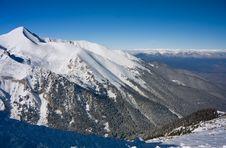 Free Winter Mountains Landscape. Bulgaria, Bansko Stock Photo - 13086890