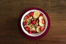 Free Close-up Photo Of Bowl Of Breakfast Cereal Royalty Free Stock Image - 130895696