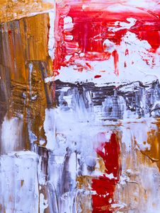 Free Abstract Painting Royalty Free Stock Photo - 130895805