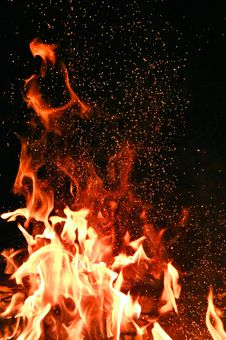 Free Red And Orange Fire Royalty Free Stock Image - 130895826