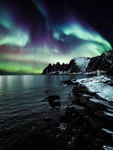 Free Aurora Borealis Royalty Free Stock Photo - 130896035