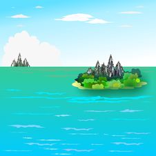 Free Island Royalty Free Stock Photo - 13094805
