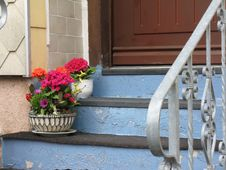 Free Window, Handrail, Flower, House Stock Photos - 130999653