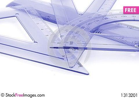 Drawing Equipment Stock Photo