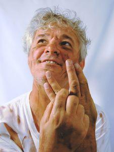 Free Dirty Senior Man Star Trek Fan Stock Images - 1310534