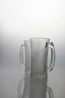 Frozen Mugs Royalty Free Stock Photography