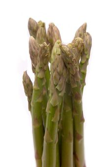 Free Asparagus Spears. Stock Image - 1312241