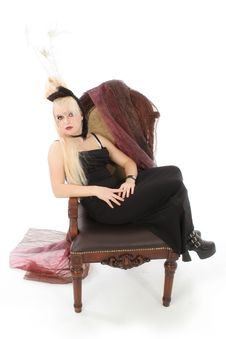 Free Goth German Teen Girl Stock Photos - 1312873