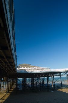 Free View Of The Pier Stock Image - 1313101