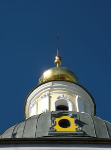Free Colorful Orthodox Dome Royalty Free Stock Photo - 1313115
