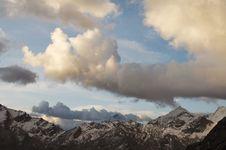 Free Cordillera Mountain Royalty Free Stock Image - 1313256