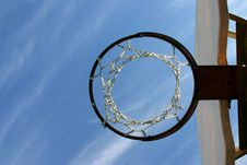 Free Lookin Up The Hoop Stock Photo - 1313360