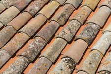 Free Tiled Roof Stock Image - 1313541