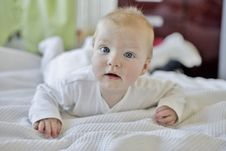 Free 6 Month Old Baby Boy Stock Photos - 1314003