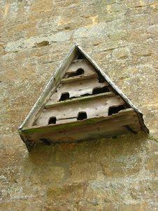 Free Triangular Dovecote Stock Photo - 1314180
