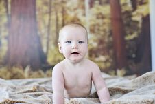 Free 7 Month Old Baby Boy Royalty Free Stock Images - 1314199