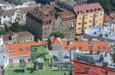 Colorful Roofs Of Tallinn Royalty Free Stock Photo