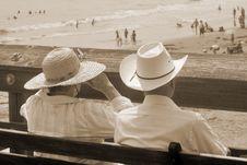 Free Beach View (sepia) Stock Photos - 1315573