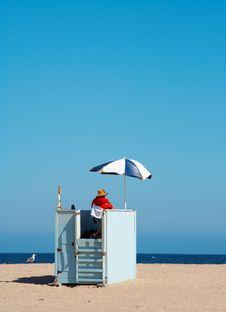 Free Lifeguard Royalty Free Stock Photography - 1316807