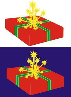 Free Christmas Parcel Stock Image - 1316951
