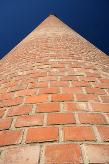 Free Red Brick Chimney Royalty Free Stock Photos - 1317828