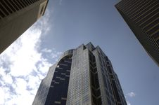 Free Downtown Highrise Under Blue Sky Stock Photos - 1318063