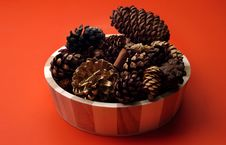Free Fall - Scented Pinecones Stock Image - 1318081