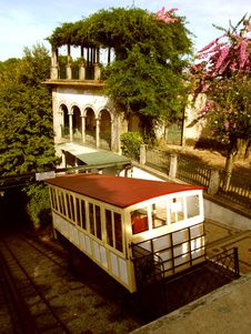 Free Stylish Water Funicular Royalty Free Stock Photos - 1319108