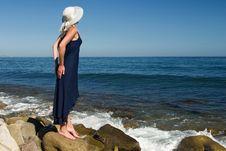 Free Girl On The Beach Stock Photos - 1319573