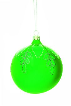 Free Christmas-tree Decorations Ball Stock Photos - 1319893