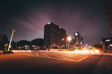 Free Landscape Photography Of Intersection Royalty Free Stock Photo - 131016995