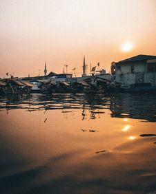 Free Boats Moored On Body Of Water Stock Photos - 131017003