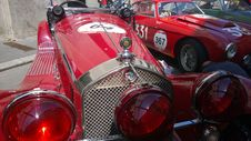Free Car, Motor Vehicle, Red, Antique Car Stock Photos - 131082053