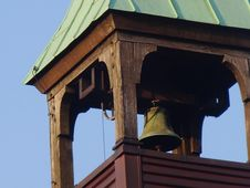 Free Church Bell, Bell, Roof, Facade Stock Photography - 131082112