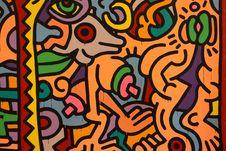 Free Art, Modern Art, Orange, Pattern Royalty Free Stock Photos - 131082368