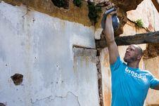Free Wall, Bouldering, Vacation, Sport Climbing Stock Photos - 131082373