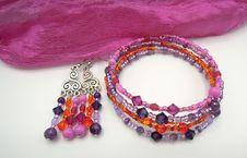 Free Jewellery, Fashion Accessory, Bead, Magenta Royalty Free Stock Photos - 131082658