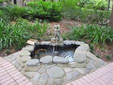 Free Garden, Water Feature, Pond, Water Royalty Free Stock Images - 131082819