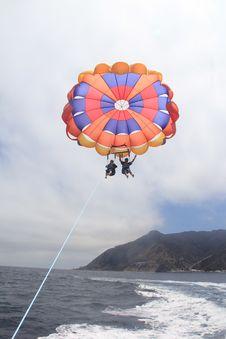 Free Parachute, Parasailing, Parachuting, Air Sports Stock Image - 131082951