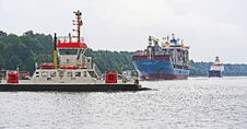 Free Water Transportation, Waterway, Ship, Tugboat Royalty Free Stock Images - 131082989
