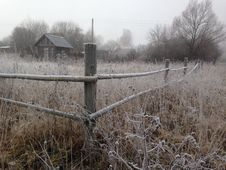 Free Frost, Winter, Tree, Fence Royalty Free Stock Photo - 131083315