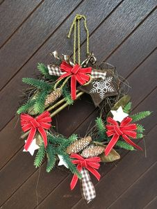 Free Christmas Decoration, Christmas Ornament, Wreath, Evergreen Royalty Free Stock Images - 131164949