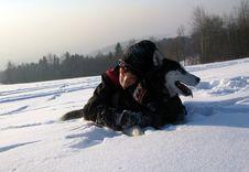 Free Snow, Winter, Dog Like Mammal, Mushing Royalty Free Stock Photo - 131165065