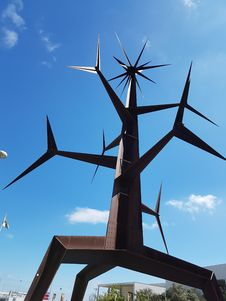 Free Windmill, Wind Turbine, Sky, Wind Farm Royalty Free Stock Photography - 131165397