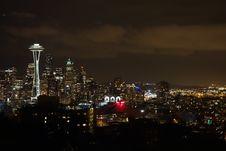 Free Cityscape, City, Skyline, Night Stock Photo - 131165530