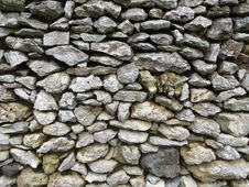Free Stone Wall, Wall, Rock, Rubble Royalty Free Stock Images - 131165729