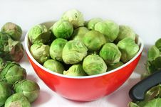 Free Brussel Sprouts Royalty Free Stock Image - 13126786